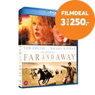 Produktbilde for Far And Away (1992) / Mot Nye Horisonter (DK-import) (BLU-RAY)