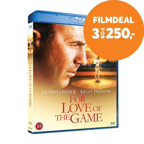 For Love Of The Game (1999) (DK-import) (BLU-RAY)