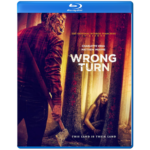Wrong Turn (2021) (UK-import) (BLU-RAY)