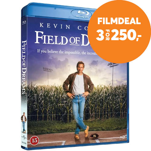 Field Of Dreams (1989) / Fortidens Helter (DK-import) (BLU-RAY)