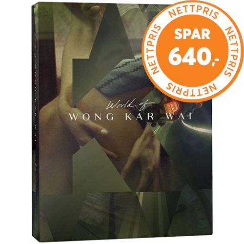 The World Of Wong Kar-Wai - The Criterion Collection (BLU-RAY)