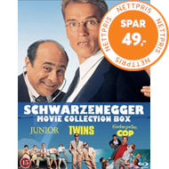 Produktbilde for Schwarzenegger 3-Pack (Twins / Kindergarten Cop / Junior) (BLU-RAY)