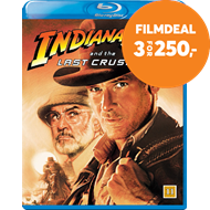 Produktbilde for Indiana Jones Og Det Siste Korstog (BLU-RAY)