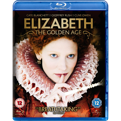 Elizabeth - The Golden Age (UK-import) (BLU-RAY)