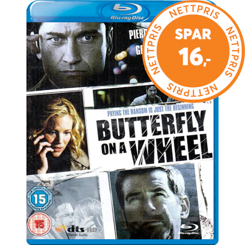 Butterfly On A Wheel (UK-import) (BLU-RAY)