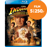 Produktbilde for Indiana Jones Og Krystallhodeskallens Rike (BLU-RAY)
