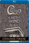 Chicago / Earth, Wind And Fire - Live At The Greek Theater (BLU-RAY)