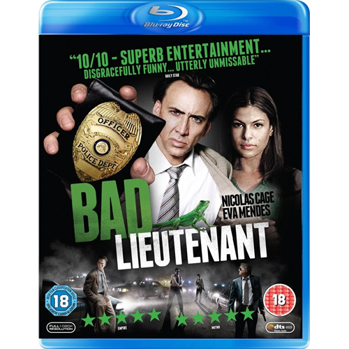 Bad Lieutenant: Port Of Call - New Orleans (UK-import) (BLU-RAY)