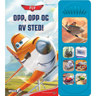 Disney: Fly Opp, Opp Og Avsted (BOK)