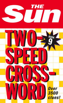 Sun Two-Speed Crossword Book 9 (BOK)