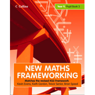 New Maths Frameworking - Year 9 Pupil Book 3 (Levels 6-8) (BOK)