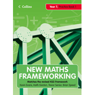 New Maths Frameworking - Year 7 Practice Book 1 (Levels 3-4) (BOK)