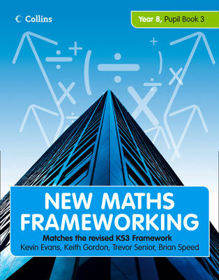 New Maths Frameworking - Year 8 Pupil Book 3 (Levels 6-7) (BOK)