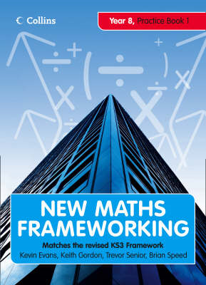New Maths Frameworking - Year 8 Practice Book 1 (Levels 4-5) (BOK)