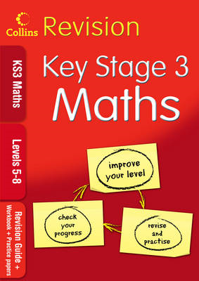 KS3 Maths L5-8: Revision Guide + Workbook + Practice Papers (BOK)