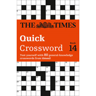 The Times Quick Crossword Book 14: 80 General Knowledge Puzzles from the Times 2 (BOK)