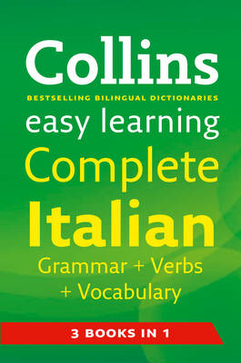 Easy Learning Complete Italian Grammar, Verbs and Vocabulary (BOK)