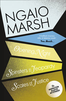 Opening Night: WITH Spinsters in Jeopardy: AND Scales of Justice (BOK)