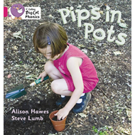 Pips in Pots: Band 1B/Pink (BOK)