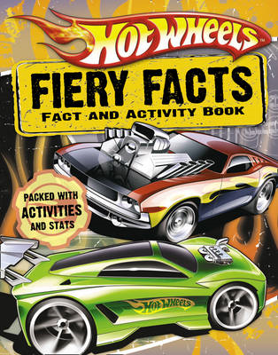Hot Wheels Fiery Facts Book (BOK)