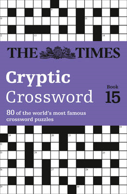 Times Cryptic Crossword Book 15 (BOK)