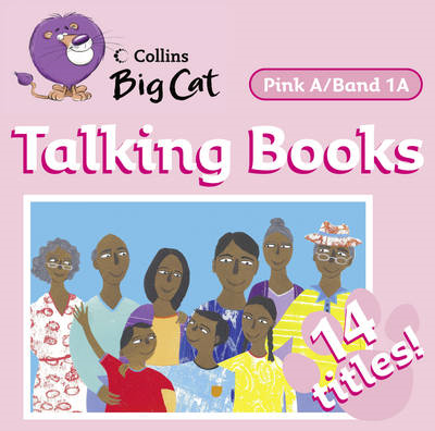 Talking Books: Band 1a/Pink A (BOK)