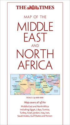The Times Map of the Middle East and North Africa (BOK)