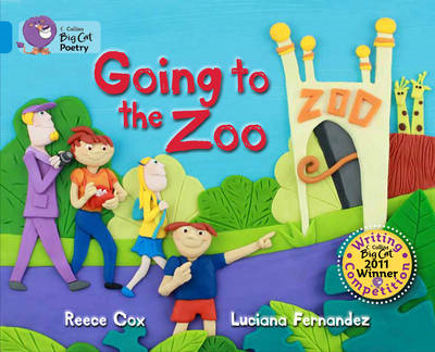 Going to the Zoo: Blue/Band 04 (BOK)