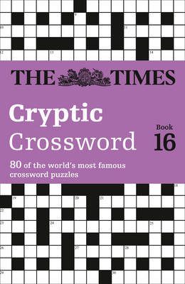 Times Cryptic Crossword Book 16 (BOK)