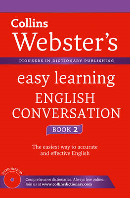 Webster's Easy Learning English Conversation: Book 2 (BOK)