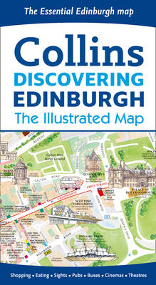 Discovering Edinburgh Illustrated Map (BOK)