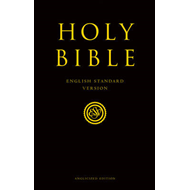 Holy Bible: English Standard Version (ESV) Anglicised Pew Bible (BOK)