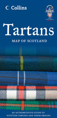 Tartans Map of Scotland (BOK)
