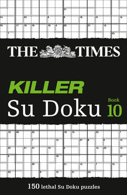 Times Killer Su Doku Book 10 (BOK)