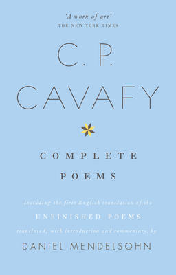 Complete Poems of C. P. Cavafy (BOK)