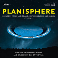 Planisphere: Latitude 50 N - for Use in the UK and Ireland, Northern Europe and Canada (BOK)