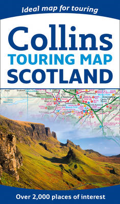 Scotland Touring Map (BOK)