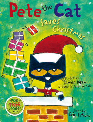 Pete the Cat Saves Christmas (BOK)