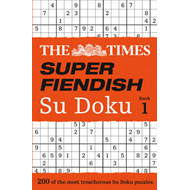 Times Super Fiendish Su Doku Book 1 (BOK)