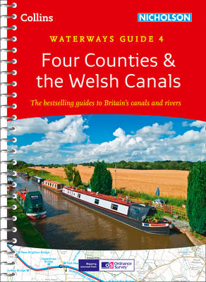 Four Counties & the Welsh Canals No. 4 (BOK)
