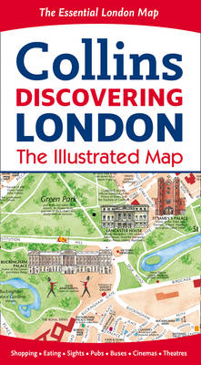 Discovering London Illustrated Map (BOK)