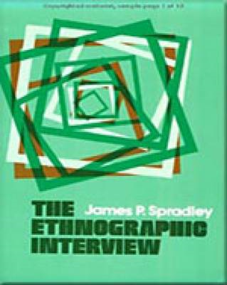 Ethnographic Interview (BOK)