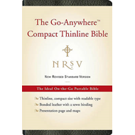 NRSV the Go-Anywhere Thinline Bible (BOK)