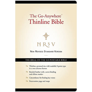 Go Anywhere Thinline Bible Black (BOK)