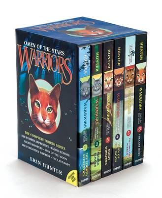 Warriors: Omen of the Stars Box Set (BOK)