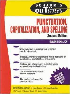 Schaum's Outline of Punctuation, Capitalization and Spelling (BOK)