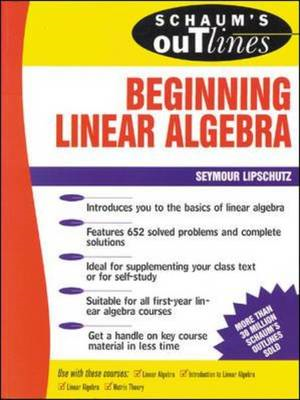 Schaum's Outline of Beginning Linear Algebra (BOK)