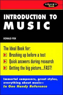 Schaum's Outline of Introduction To Music (BOK)