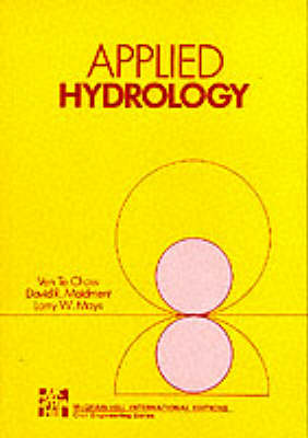 Applied Hydrology (BOK)