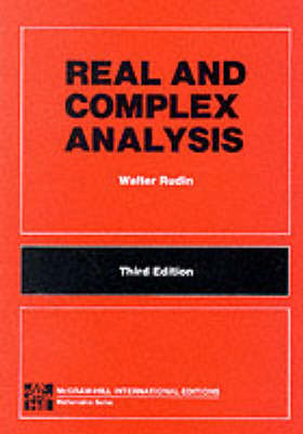 REAL & COMPLEX ANALYSIS 3E (5P) (Int'l Ed) (BOK)